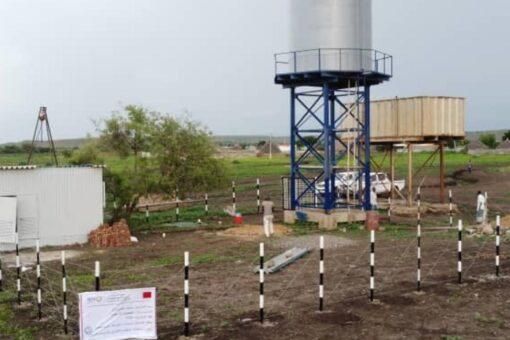 منظمة الاشراق تعيد تشغيل مضختي مياه الكنز وود السنوسي