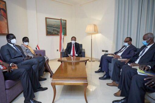 حمدوك يبحث مع ربيكا اتفاق السلام المنشط والأوضاع بدولةجنوب السودان