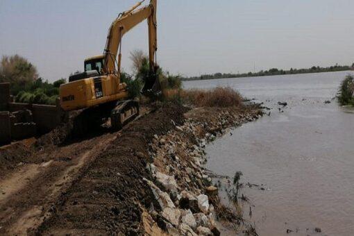 نهر النيل: الدفاع المدني يطمئن على سير أعمال التروس والحمايات