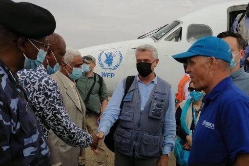 مفوض الامم المتحدة لشؤون الاجئين يصل كسلا