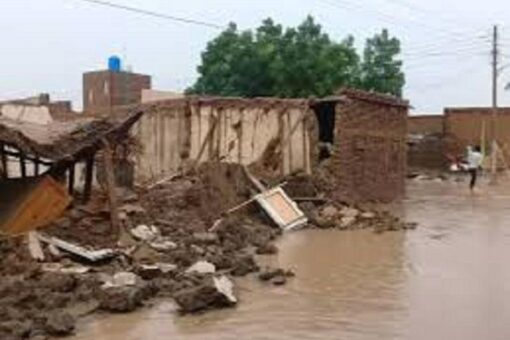 أمطار غزيرة وعواصف تتسبب في خسائر بمنطقة أبودليك