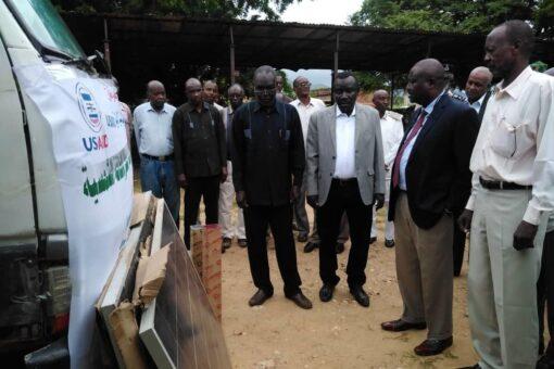 تأهيل محطات مياه تعمل بالطاقة الشمسية بمحلية كادقلي.