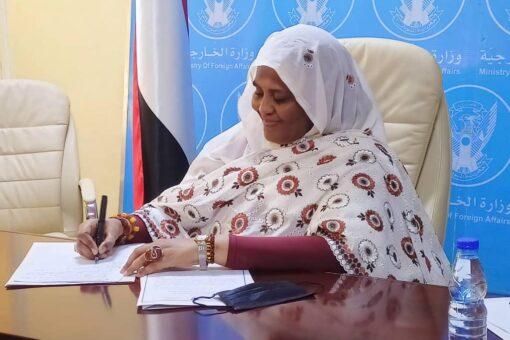 وزيرة الخارجية تعقد لقاءً افتراضياً مع المبعوث الخاص للأمم المتحدة