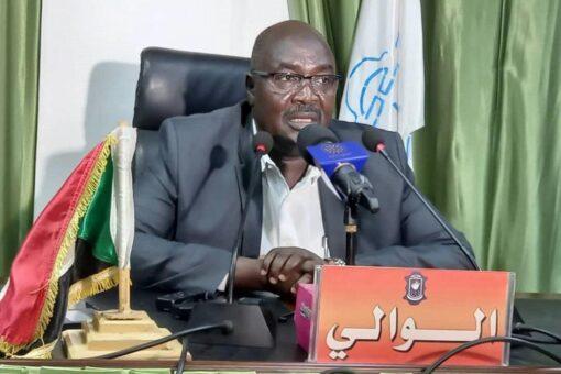 والي غرب دارفور يؤكد دعمه للمشروعات الخدمية والتنموية بالولاية