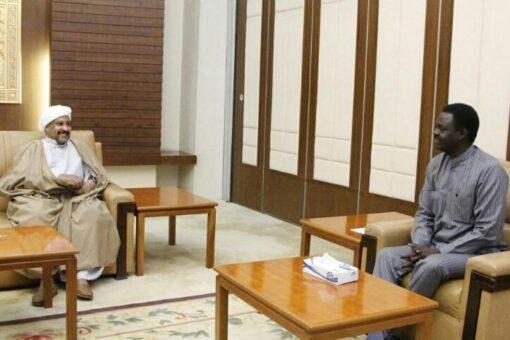 مناوي يلتقي نائب رئيس الحزب الاتحادي الديمقراطي