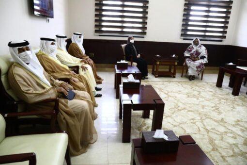 وزيرة العمل تستقبل وزيرة الدولة للتطوير الحكومي والمستقبل الاماراتية
