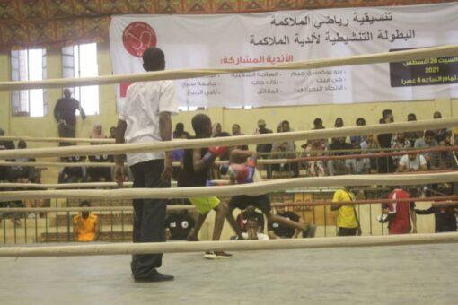 أمين مجلس الشباب والرياضة يشهد ختام البطولة التنشيطية للملاكمة