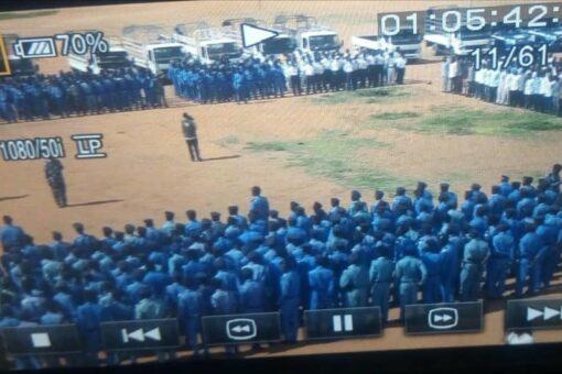 شرطةولاية نهر النيل تشن حملات على طواحين الذهب بالأحياء السكنيةوالمزارع