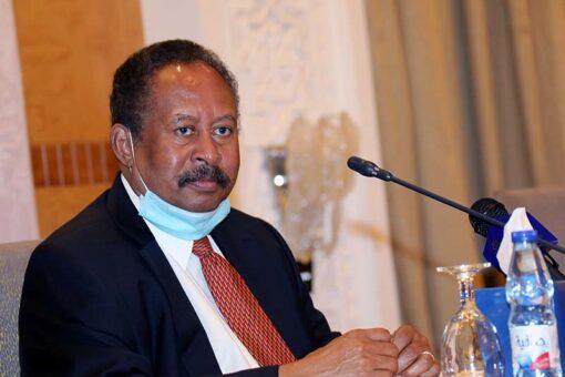 د. حمدوك يلتقي حاكم اقليم دارفور