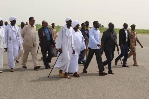 وزير الشؤون الدينية والأوقاف يختتم زيارته لولاية غرب دارفور