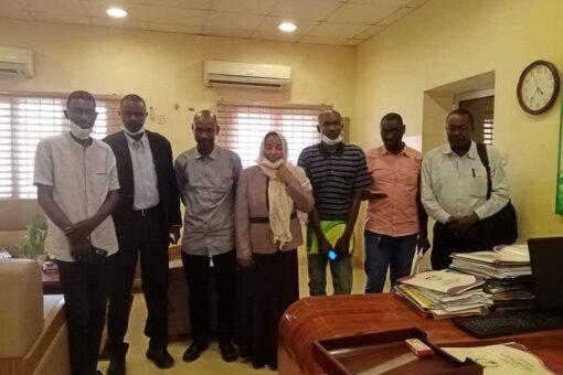 وكيل الصحة تلتقي مديرعام وزارة الصحة بشرق دارفور