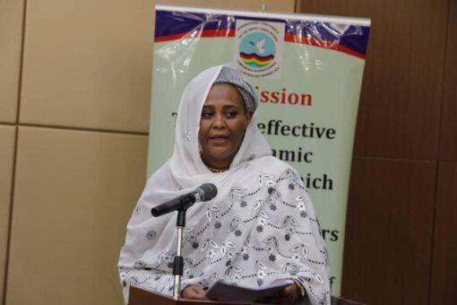 وزيرة الخارجية تجدد إلتزام الحكومة السودانية بالمبادرة الاقليمية لدول البحيرات