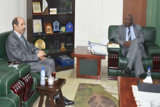 النائب العام المكلف يلتقى سفير المغرب