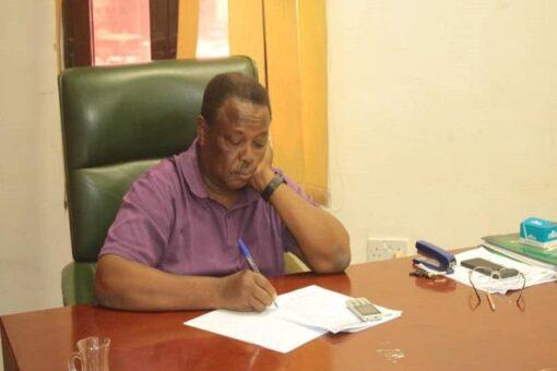 إجتماع اللجنة المنظمة لمباراة السودان وغينيا بيساو