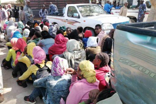 تقرير:القاء القبض على فتيات اجنبيات دخلن الخرطوم سيرا على الأقدام