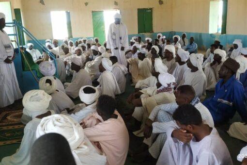 زكاة شمال دارفور تسير قافلة دعوية إلى محلية الكومة