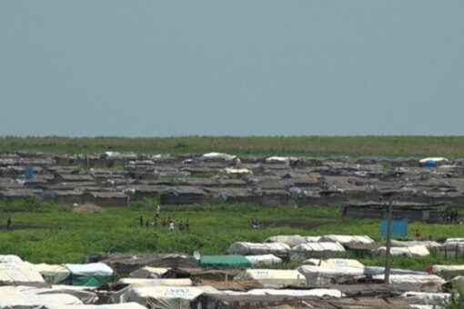 الضابطة الاثيوبية فرويني برهي في معسكر ام قرقور