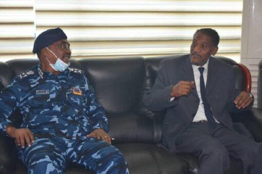 رئيس القضاء يلتقى وزير الداخلية