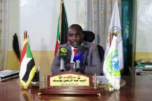 أديب يؤكد هدؤ وإستقرار الأوضاع بوسط دارفور