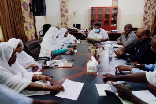 لجنة تنمية القطاع الصحي بالجزيرة توصى بتأهيل مستشفي مدني