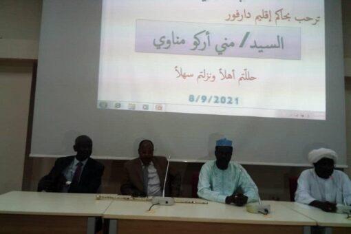 حاكم إقليم دارفور يزور جامعة نيالا
