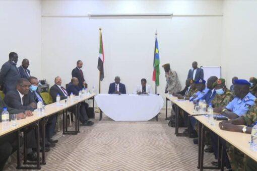 الآلية السياسية الأمنية المشتركة بين السودان وجنوب السودان تختتم أعمالها