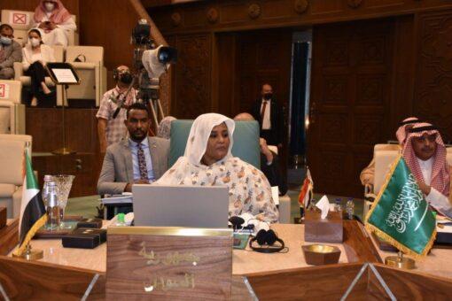 لقاءات لوزيرة الخارجية على هامش المجلس الوزارى للجامعة العربية