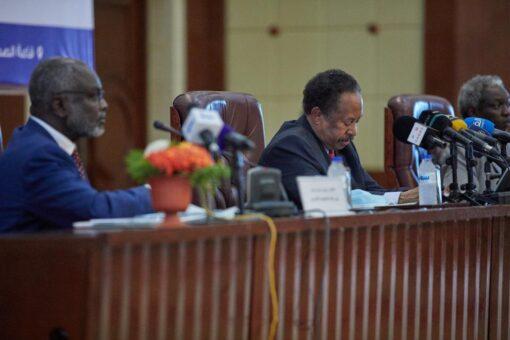 حمدوك يشارك فى افتتاح آلية منتدى الشراكة السوداني