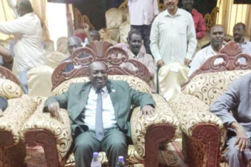 وزير الرياضة يشهد إفتتاح بطولة كأس السودان للشطرنج بمدني