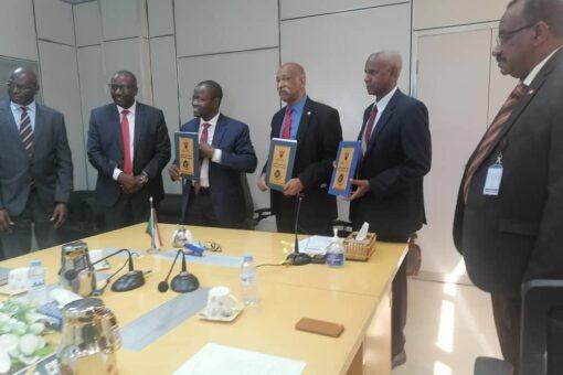 مذكرة تفاهم بين الطيران المدنى والبنك الأفريقي لتطوير مطار الخرطوم