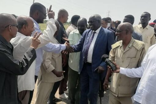 وزير التنمية الاجتماعية يدشن مشروعات الزكاة بحلفا الجديدة