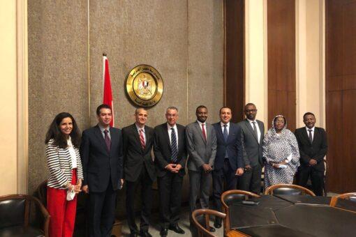 المفوضية القومية لحقوق الإنسان تلتقي باللجنة الدائمة لحقوق الإنسان بمصر