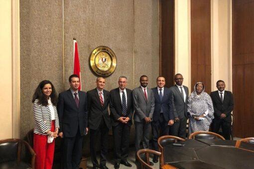 وفد المفوضية القوميةلحقوق الإنسان يلتقى باللجنة الدائمة لحقوق الإنسان بمصر