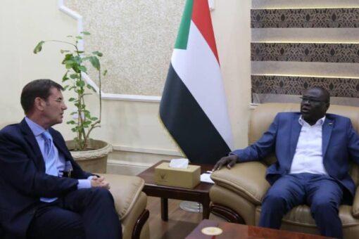 تاور يبحث مع سفير الاتحاد الاوربي القضايا الثنائية