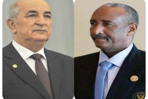 البرهان يبعث ببرقية تعزية في وفاة الرئيس الجزائري السابق بوتفليقة