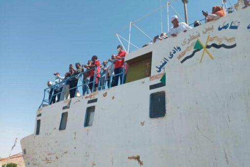 وصول فريق هندسي مصرى لوادي حلفا لتطوير وتأهيل النقل النهري