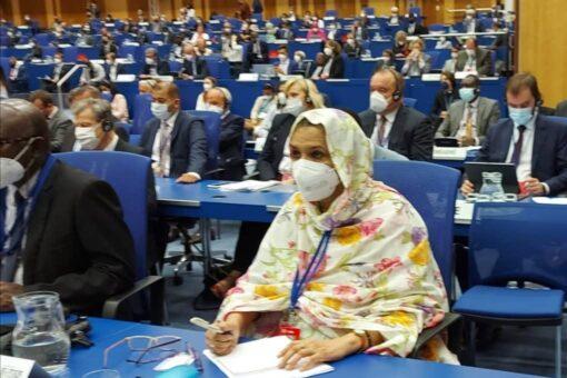 صغيرون تشارك في مؤتمر الوكالة الدولية للطاقة الذرية بفيينا