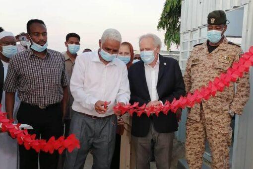 والي كسلا يفتتح مكتب اللجنة الدولية للصليب الأحمر