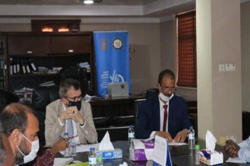مدير الإحصاء يلتقى رئيس بعثة اليونيتامس