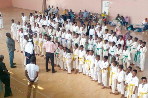 ختام بطولة الكاراتيه نوميشي للأندية والمراكز بولاية الخرطوم