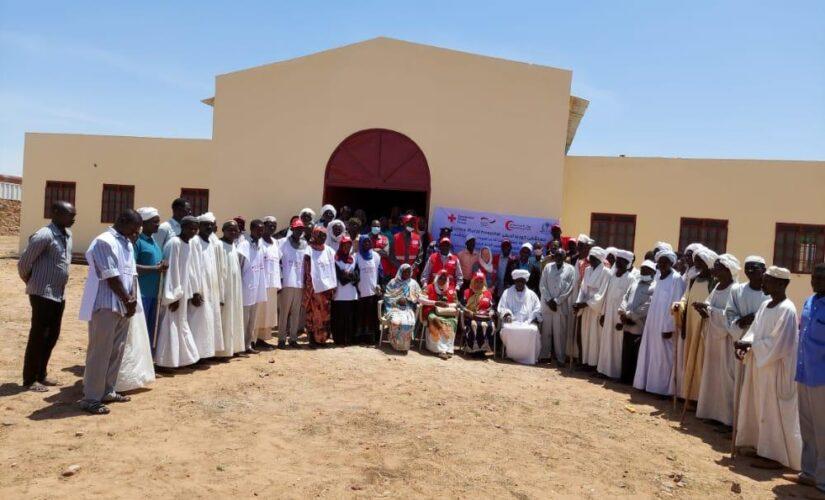 الصحة بشمال دارفور تتسلم مستشفى كورما الريفي بعد إعادة تأهيله