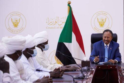 حمدوك يتعهد بدعم وتحقيق الأمن والاستقراربولاية جنوب دارفور