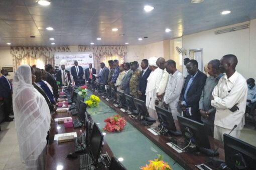 وزراء حكومة إقليم النيل الأزرق يؤدون القسم أمام الحاكم