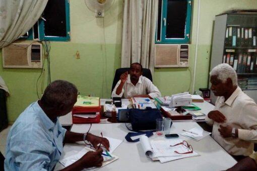اختيار المنسق الولائي لمشروع الموارد الطبيعية المستدامة بالجزيرة