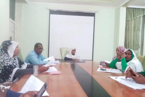 ترتيبات لإجتماعات الآلية الولائية للحماية الإجتماعية بالجزيرة