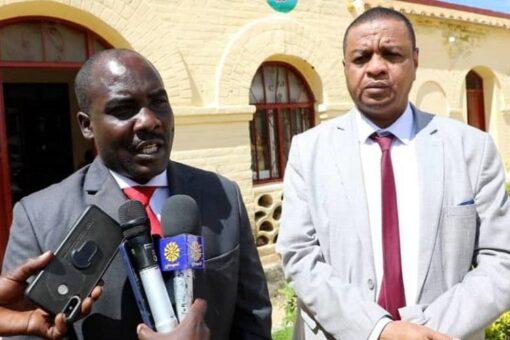والي وسط دارفور وامين الزكاة يدشنان برنامج النفرة