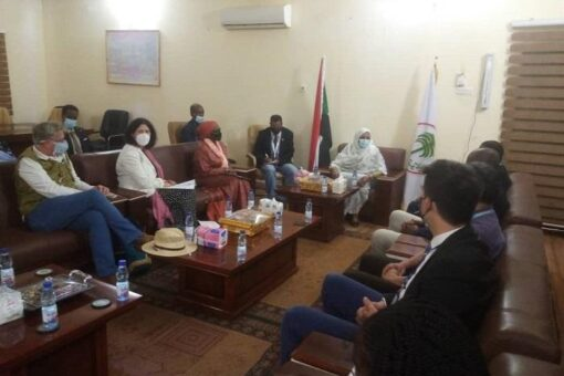 والى الشمالية تلتقى وفدممثلي الفريق القطري للأمم المتحدة وبعثة يونيتامس