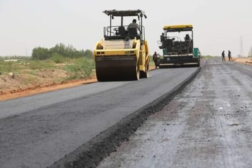 الطرق والجسور ولاية الخرطوم تنفذ شارع مدينة الرشيد بجبل اولياء