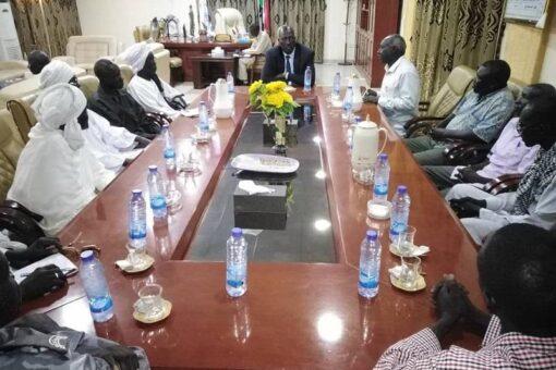 حاكم النيل الأزرق يؤكد أهمية دور الإدارة الأهلية