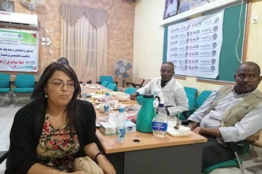 وفد من رئاسة جمعية تنظيم الأسرة السودانية يزور شمال كردفان